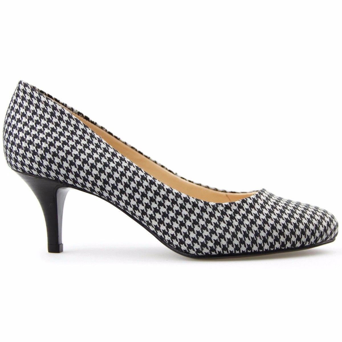 37b635dfec Carregando zoom... feminino scarpin sapato. Carregando zoom... sapato  feminino scarpin tecido lindo oferta frete grátis