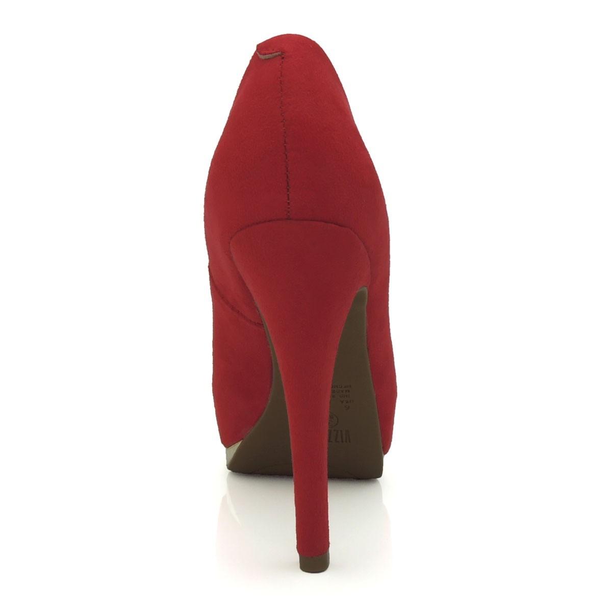 ce068ebf88 Carregando zoom... feminino scarpin sapato. Carregando zoom... sapato  feminino scarpin vizzano 1157200 meia pata