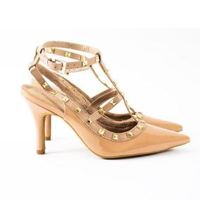 5a5d111624 Sapato Scarpin Spike Tachas Importado - Sapatos no Mercado Livre Brasil