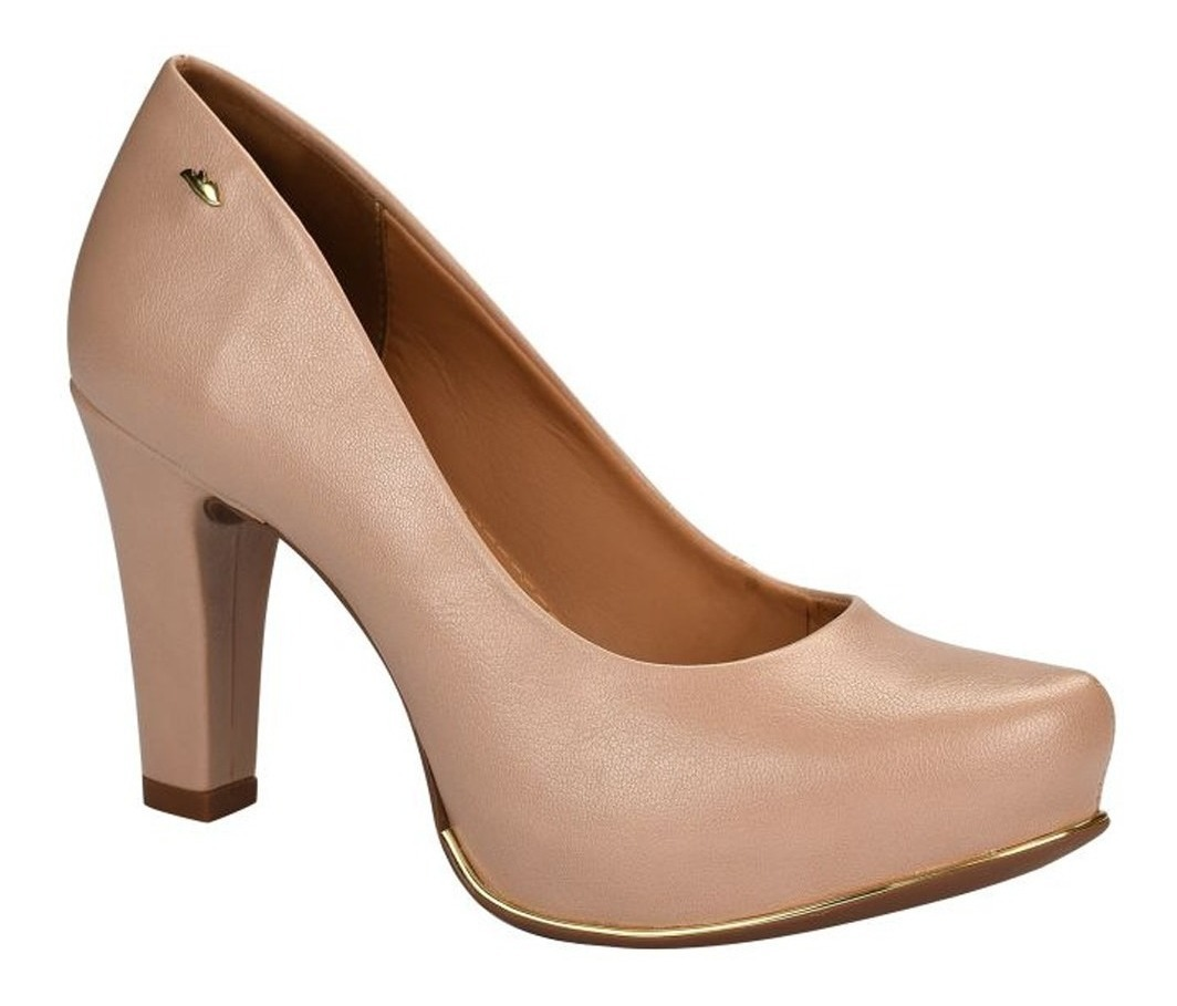 d87931853 Sapato Feminino Scarpin Dakota Salto Alto Nude - R$ 149,00 em ...