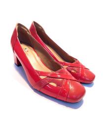 383212909e Sapato Scarpin Da Mariotta Vermelho - Calçados