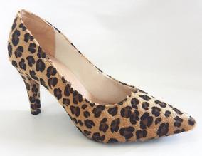 c48115424b Terninho Feminino Sapato - Scarpins para Feminino Ocre no Mercado Livre  Brasil