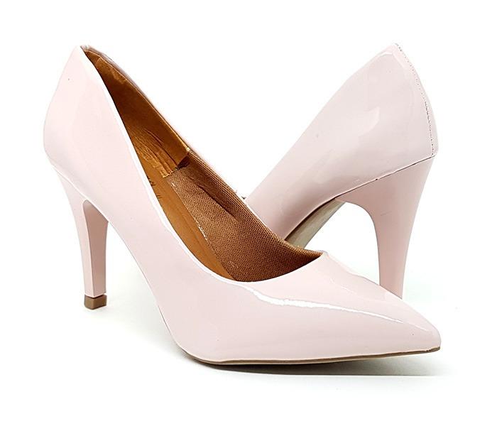 f316fff514 Sapato Feminino Scarpin Salto Alto Fino Barato Frete Grátis - R  120 ...