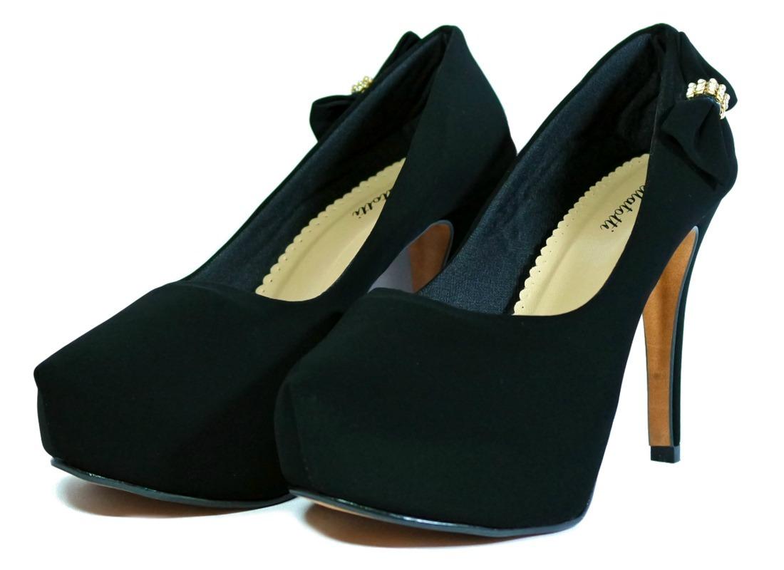 95284bee9b sapato feminino scarpin salto alto lindo festa formatura. Carregando zoom.