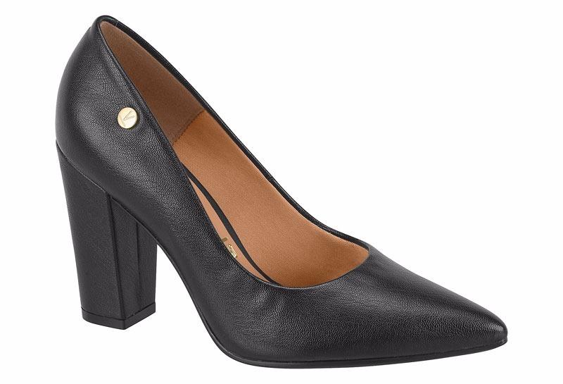 3f48ff0ffc sapato feminino scarpin salto grosso geométrico 1264100 napa. Carregando  zoom.