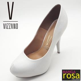 c89cd12d67 Sapatos Femininos Vizzano Bico De Tubarao - Calçados