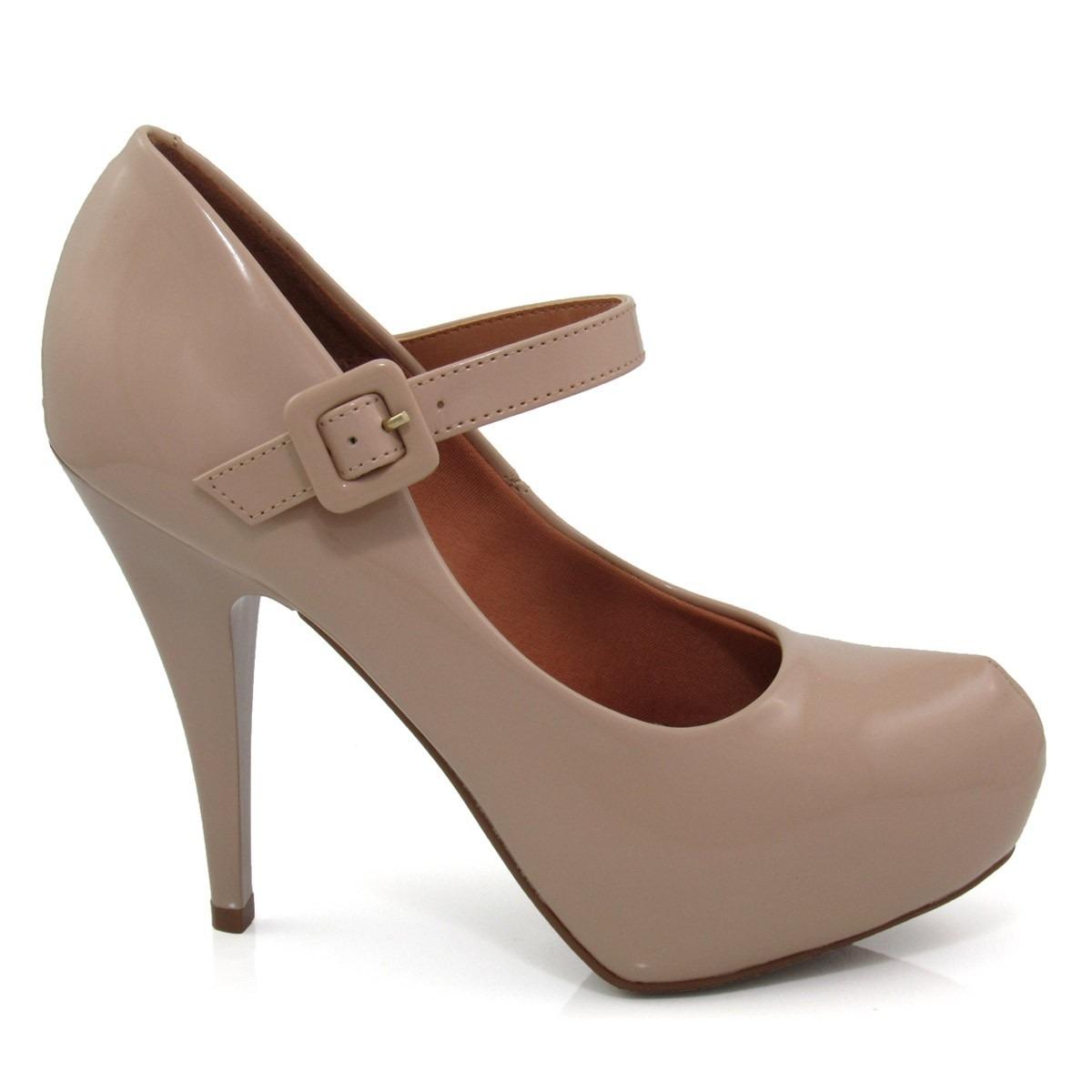 5d64ff461c sapato feminino scarpin vizzano 1143304 boneca verniz. Carregando zoom.