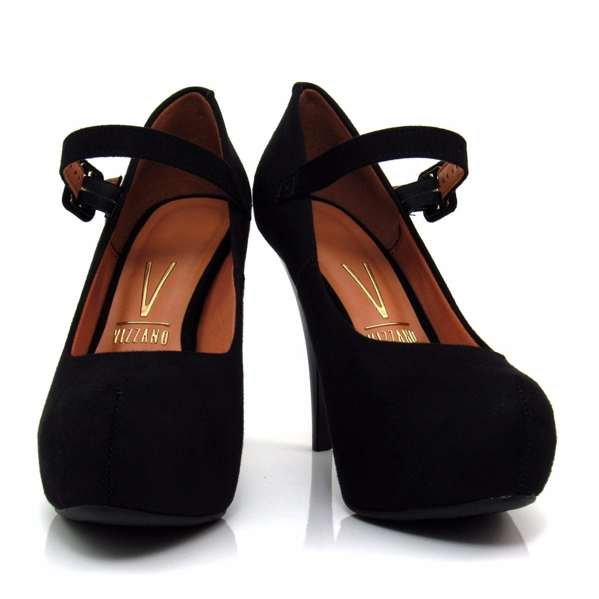 e7019cf345 sapato feminino scarpin vizzano 1143304 meia pata boneca. Carregando zoom.