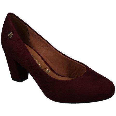 1798759785 Sapato Feminino Scarpin Vizzano 1259100 Salto Grosso Baixo - R  79 ...
