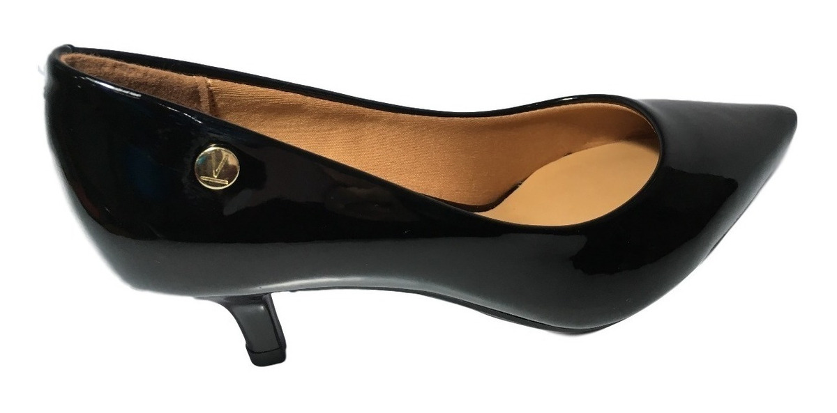 58d67bdaa5 sapato feminino scarpin vizzano bico fino várias cores. Carregando zoom.