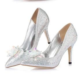 5e917ed51 Sapatos Cristal De 15 Anos Debutante no Mercado Livre Brasil