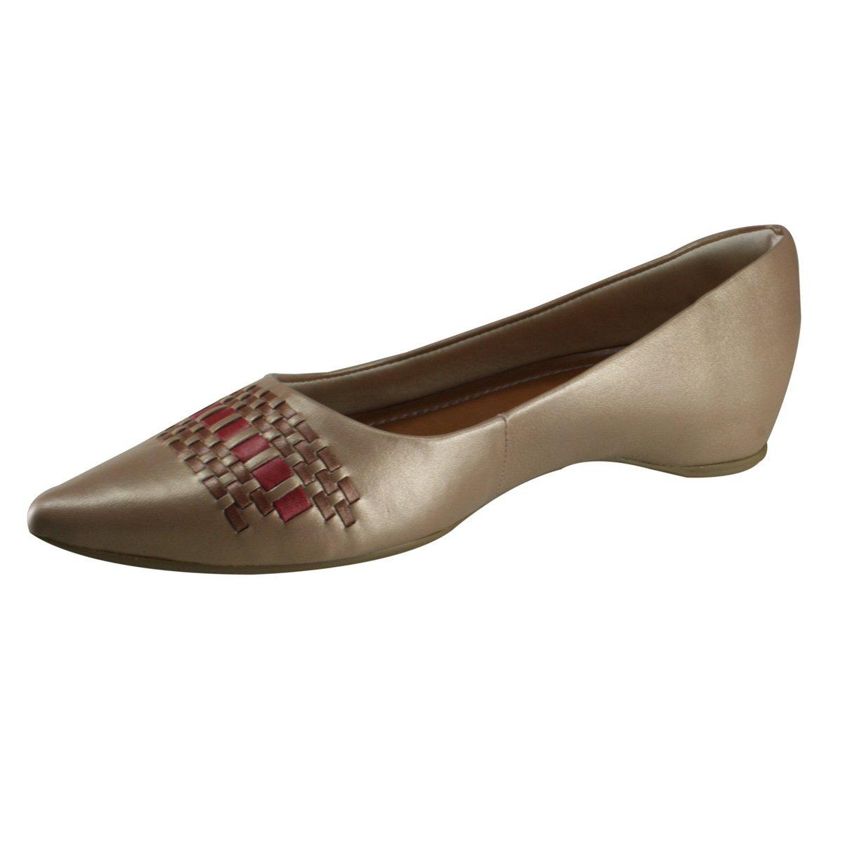 62cb52164 Sapato Feminino Usaflex R0536/50 | Katy Calçados - R$ 219,90 em ...