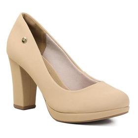 Sapato Feminino Via Marte 20-1654 Areia