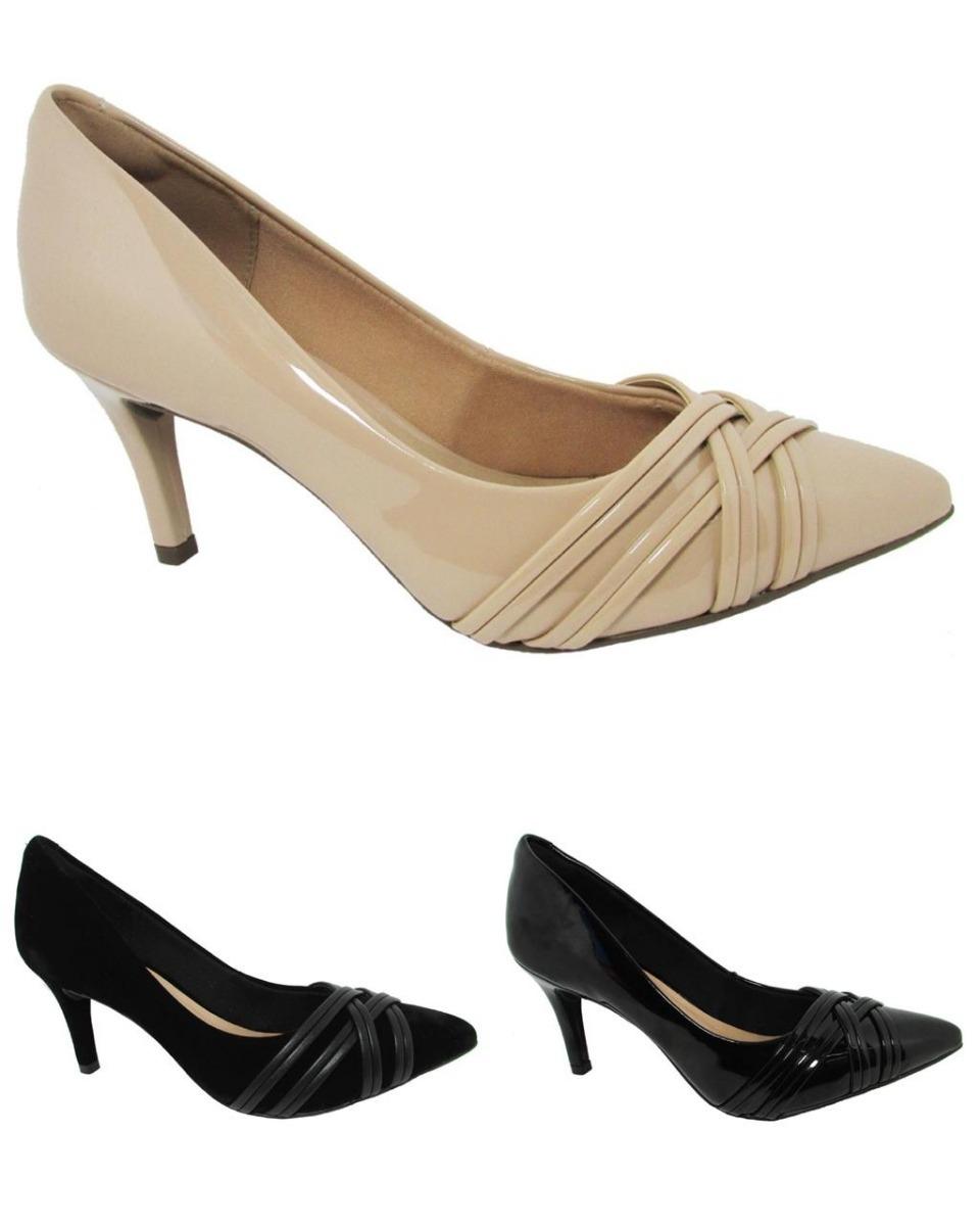 7c52d20c9 Sapato Feminino Via Uno Do 34 Ao 39 Ref:404003 - R$ 149,90 em ...