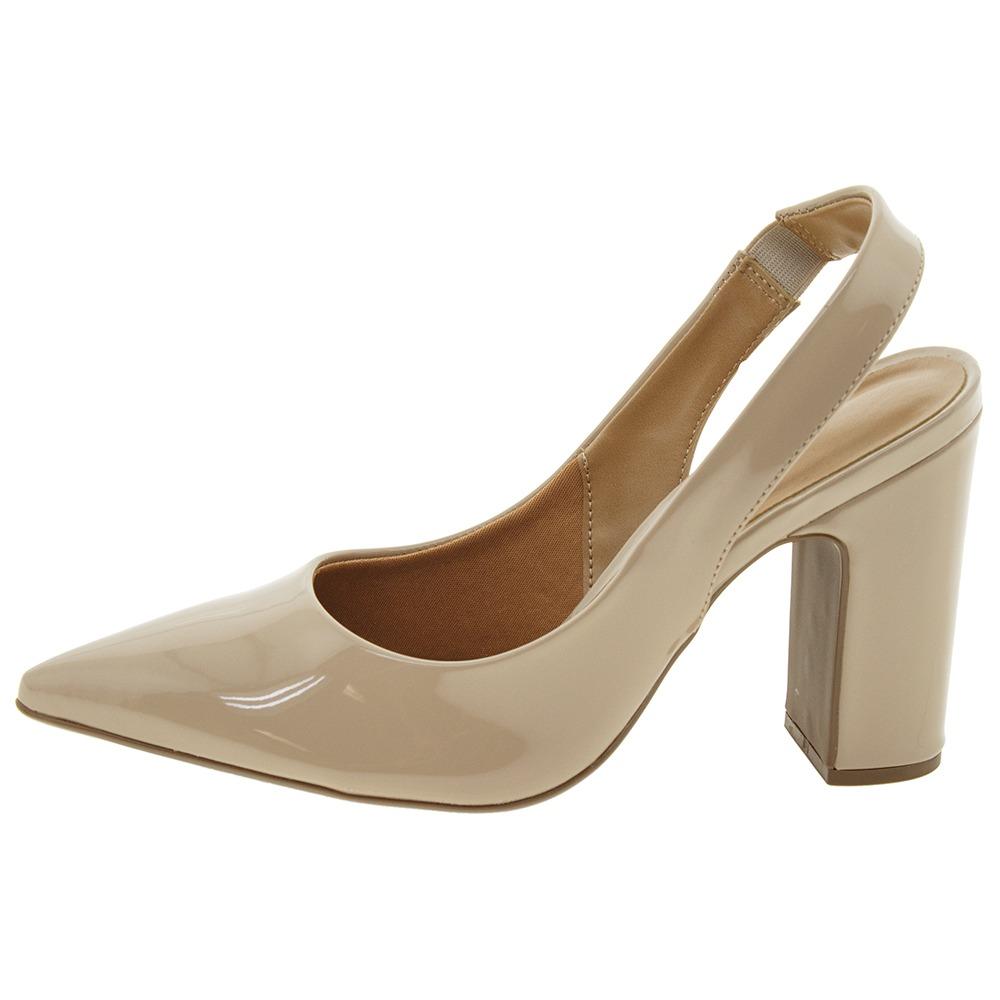 975df5c0f Sapato Feminino Chanel Bege Vizzano - 1285103 - R$ 79,99 em Mercado ...