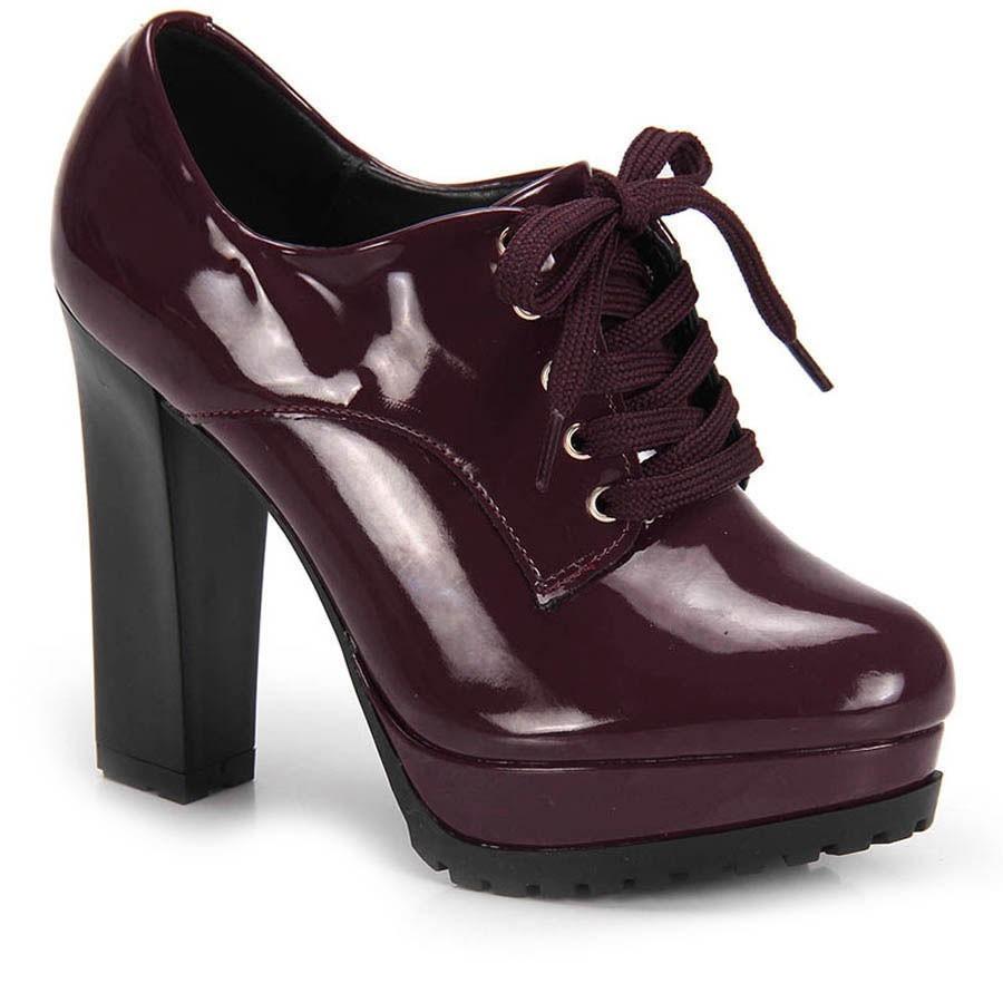 ff4d5e526 sapato feminino vizzano vinho salto grosso - frete grátis. Carregando zoom.