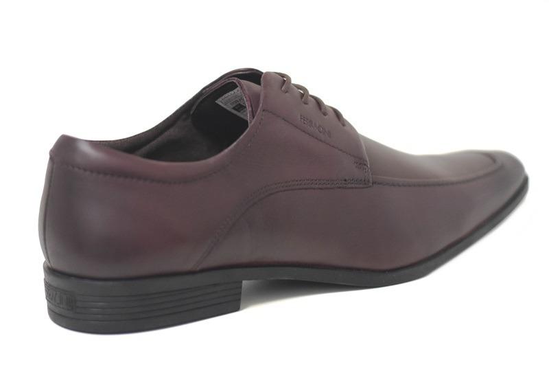 8d262a7269 sapato ferracini couro bordo - lojas pires. Carregando zoom.