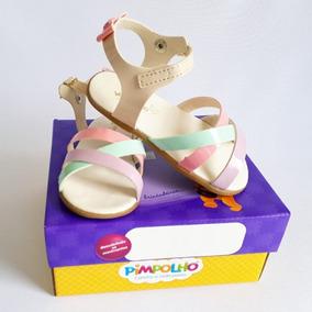 89bcc6ebd1 Sandalia Pimpolho Colore - Sapatos no Mercado Livre Brasil