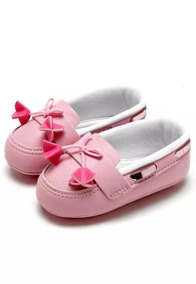 95bf0f5769 Sapato Infantil Mocassim Pimpolho Rosa Claro Meninas