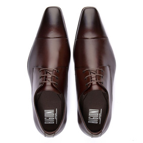 61fed8fbb1 Sapato Bigioni - Sapatos Sociais para Masculino Marrom no Mercado ...