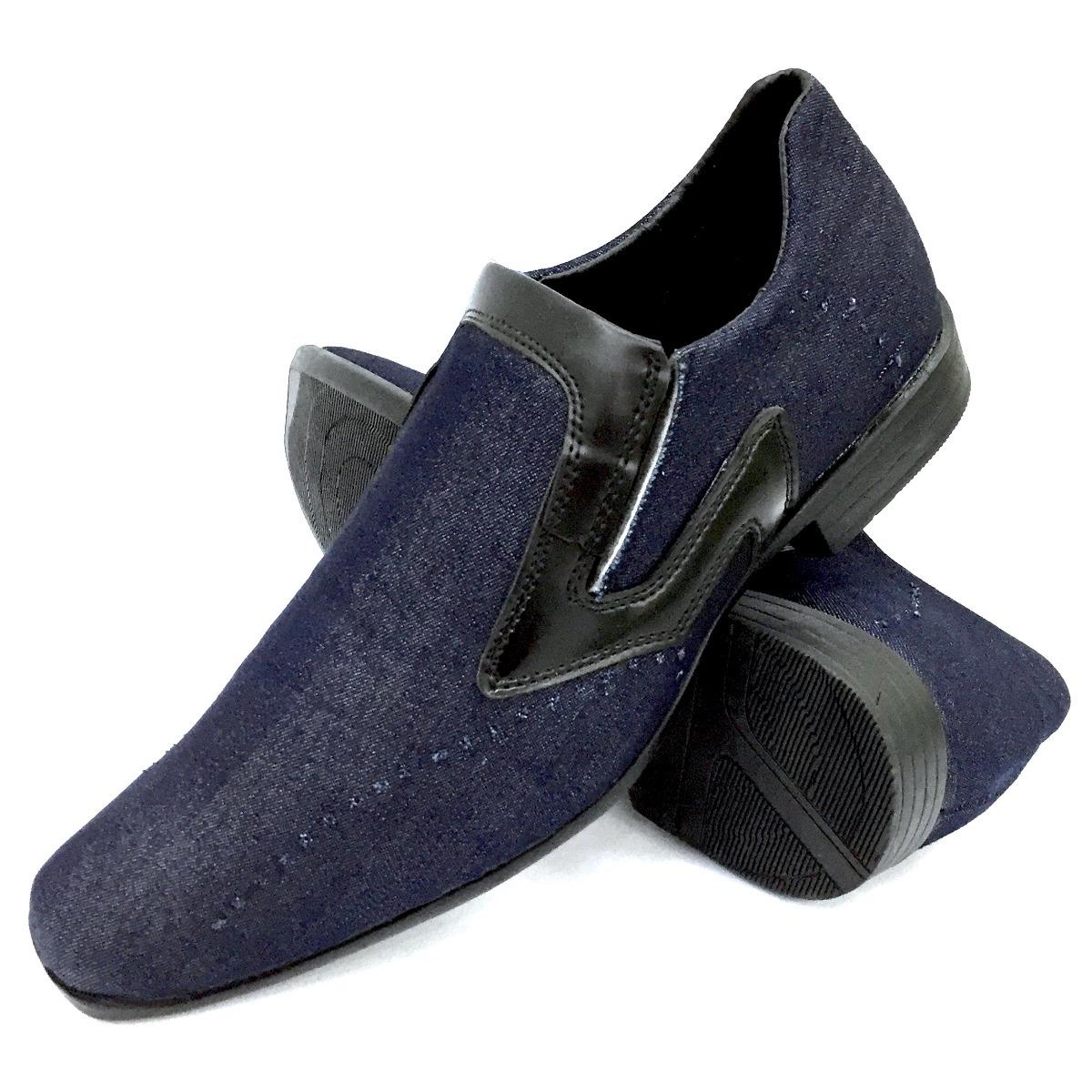 5a6e0d1af sapato jeans social masculino calce fácil muito barato mesmo. Carregando  zoom.