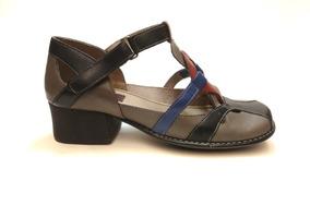 e1aa2ea6b Sapato J.gean Em Couro Preto Com Cinza J.gean - Sapatos no Mercado Livre  Brasil