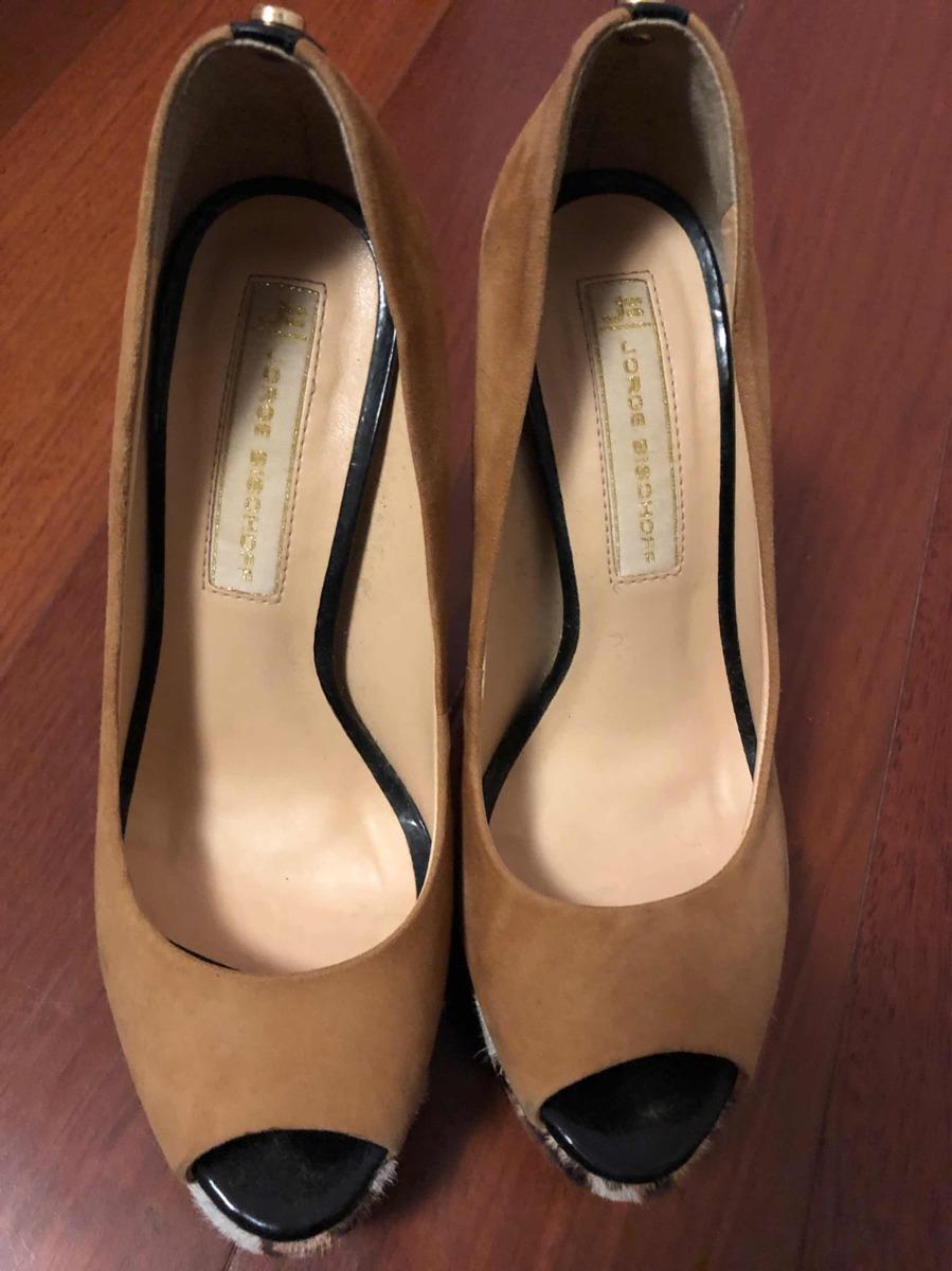 f1d68ca89 Sapato Jorge Bischoff 34 - Seminovo - R$ 100,00 em Mercado Livre
