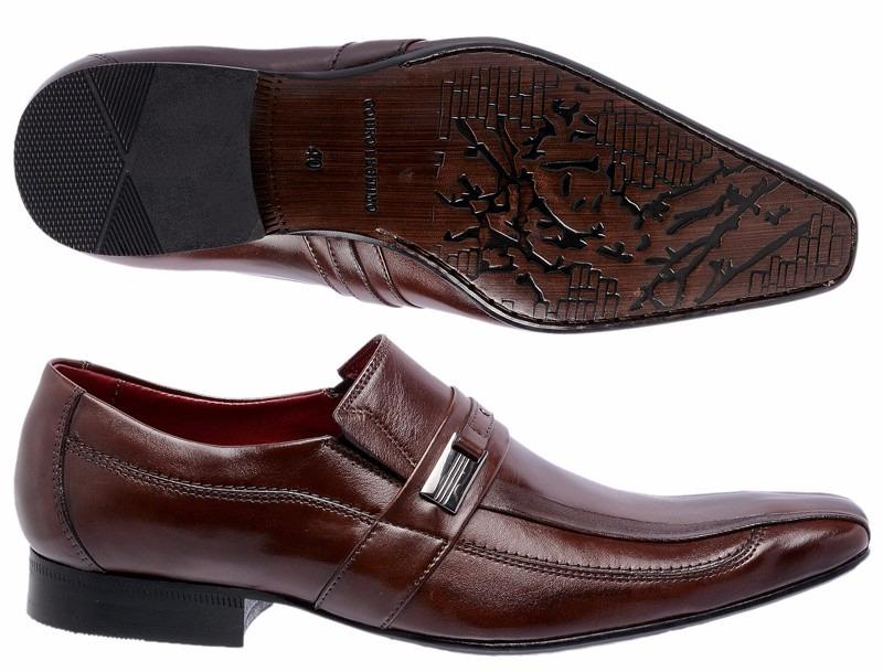 72e4c7911 sapato jovem moderno estilo italiano social masculino - 021. Carregando zoom .
