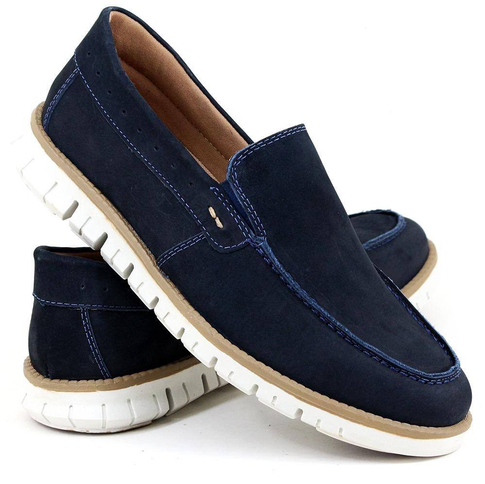 Sapato Jovem Moderno Sider 100% Couro Combina Jeans Bermuda - R  149 ... b07342b3134eb