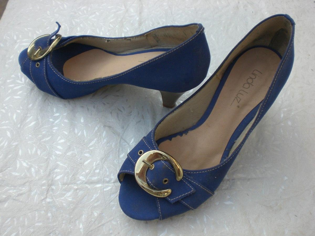 51b7c954e Sapato Linda Luz 37 - R$ 13,90 em Mercado Livre