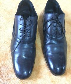1cd0c16903c Sapato Louis Vuitton Social Masculino Couro Preto