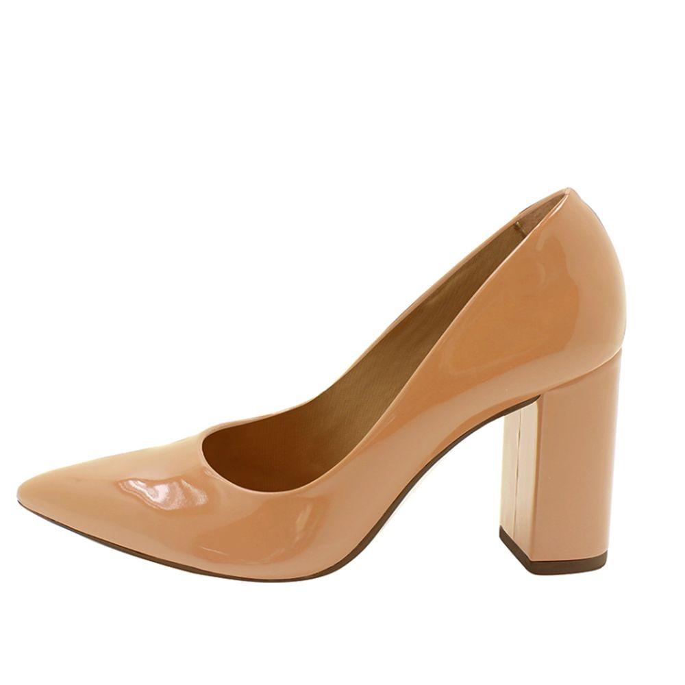 faaa959ac sapato mariotta salto grosso verniz scarpin sem frete 010126. Carregando  zoom.