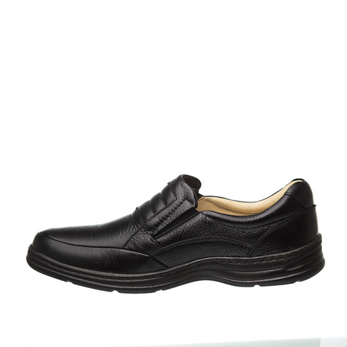 956f17ee8 Sapato Masculino 972901 Em Couro Floater Preto Doctor Shoes - R$ 299 ...