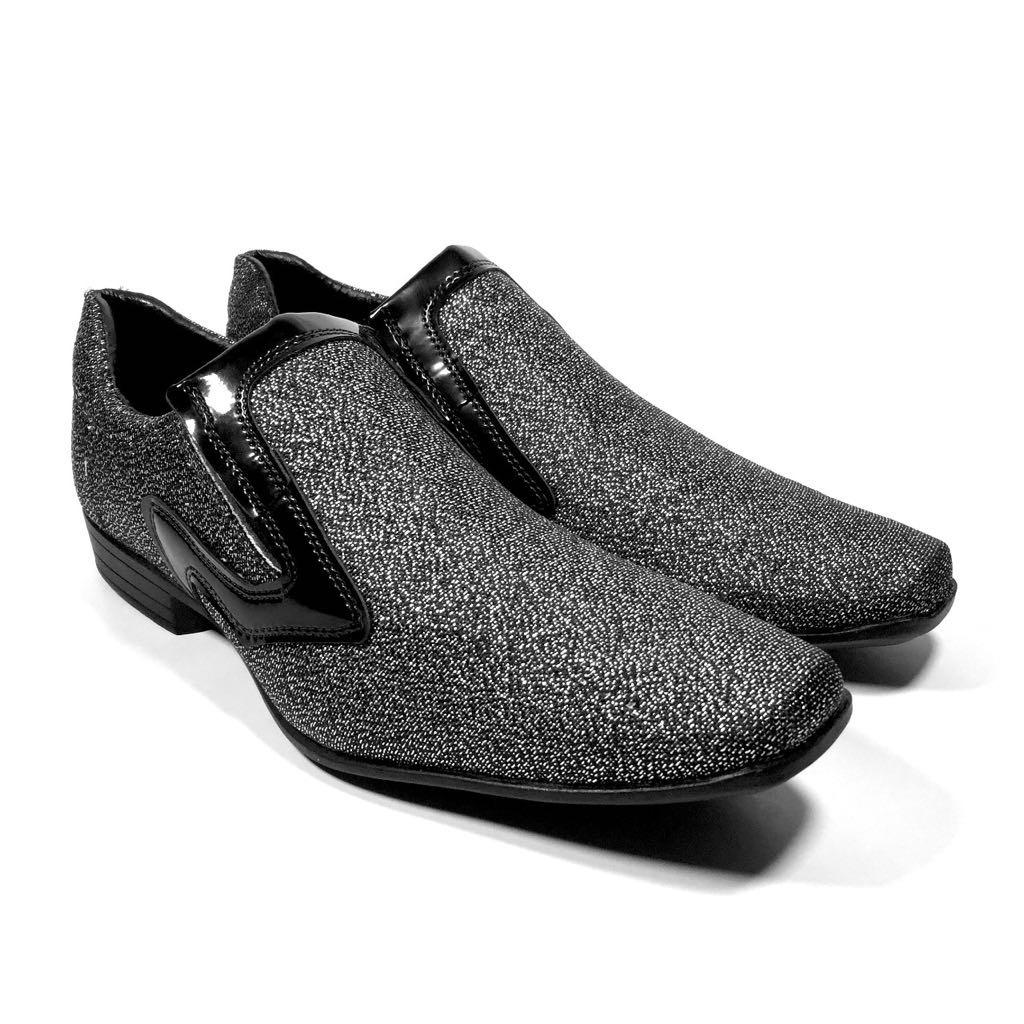 eb217220b sapato masculino brilhoso social super barato bico fino. Carregando zoom.