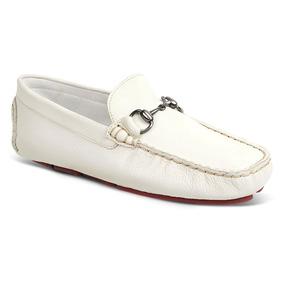 58c849eaad97e Mocassim Masculino Sandro Moscoloni Lalicome Branco - Sapatos no ...