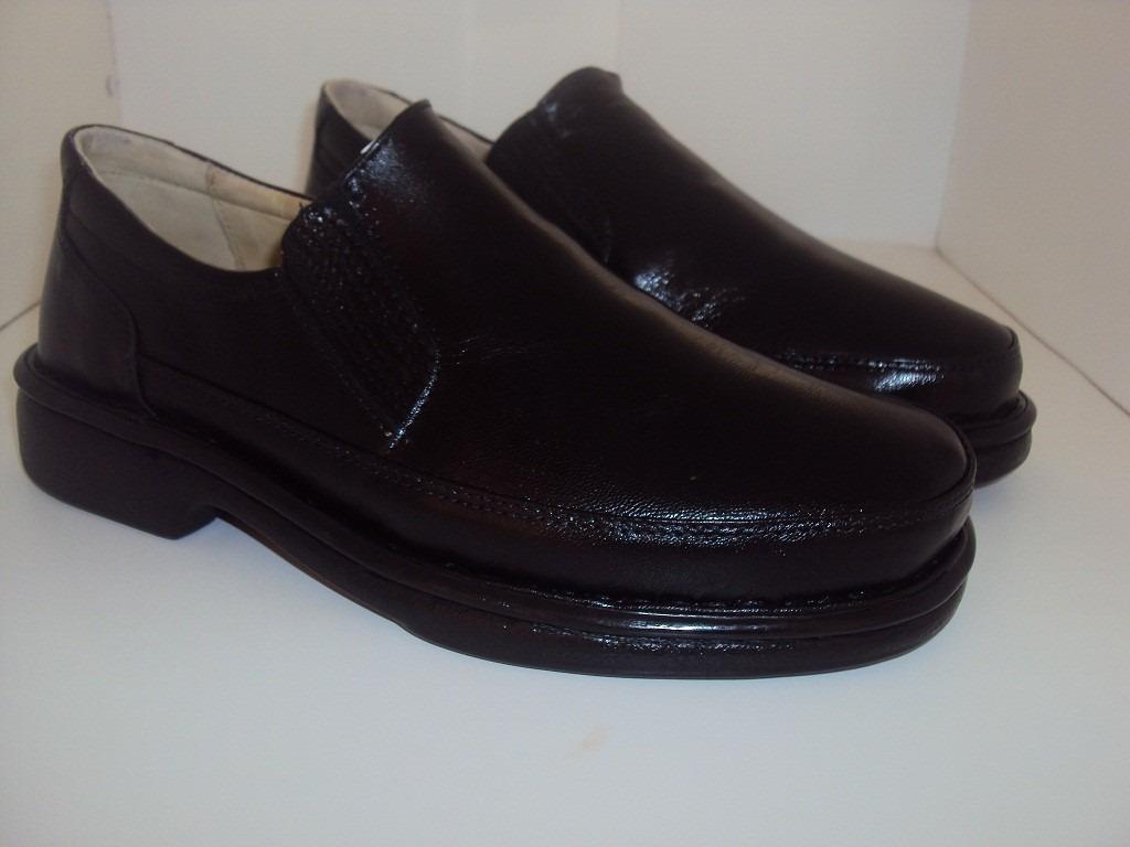 0314e08109 sapato masculino calcado conforto diabético couro bovino só. Carregando zoom .