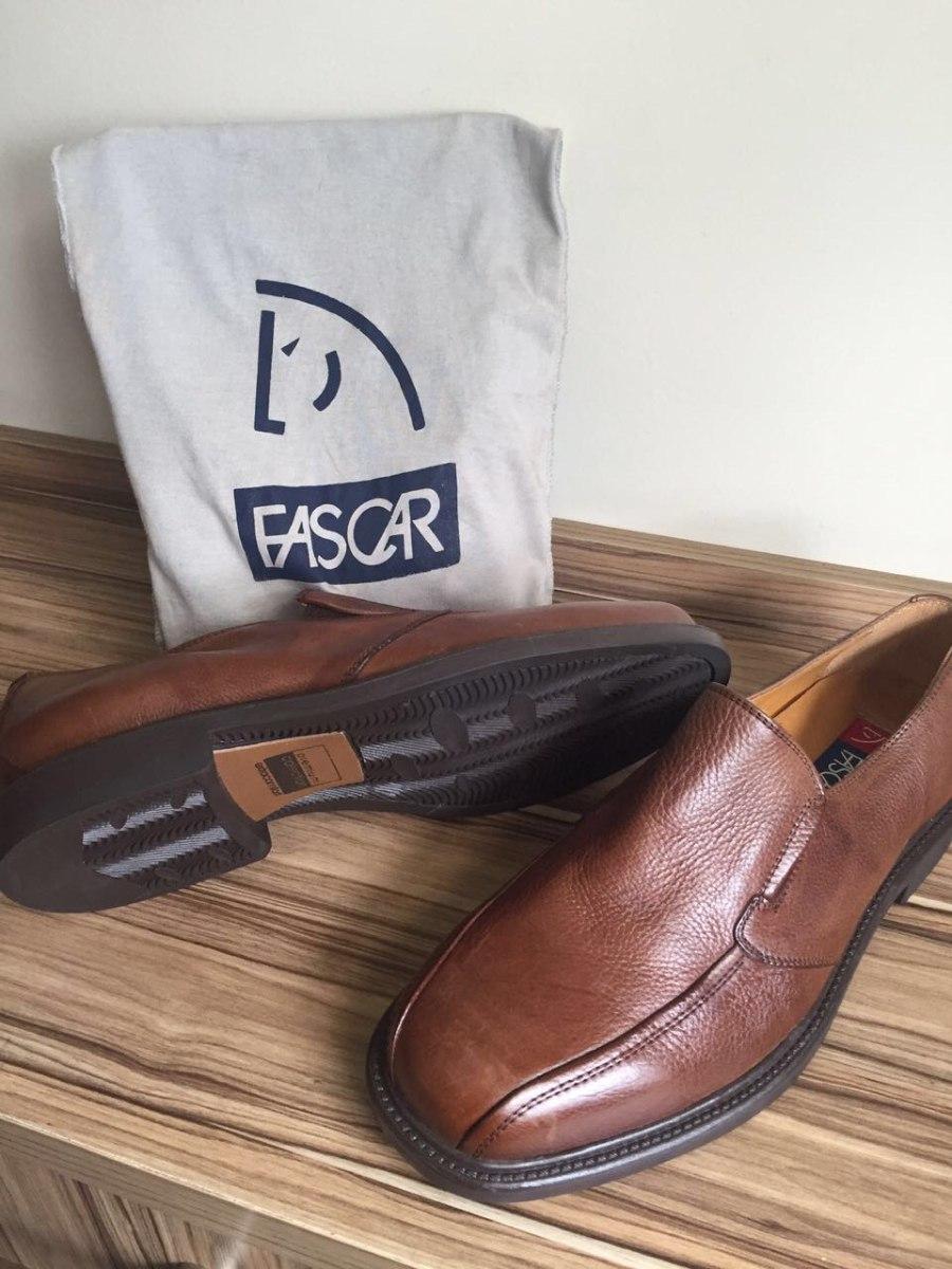 6f96f20fe sapato masculino couro legit fascar novo original marrom n43. Carregando  zoom.