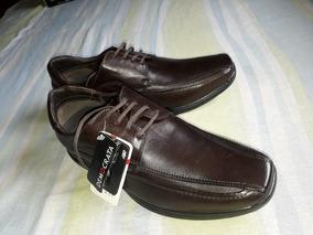 cff873291 Sapato Democrata Social - Sapatos para Masculino Marrom com o Melhores  Preços no Mercado Livre Brasil