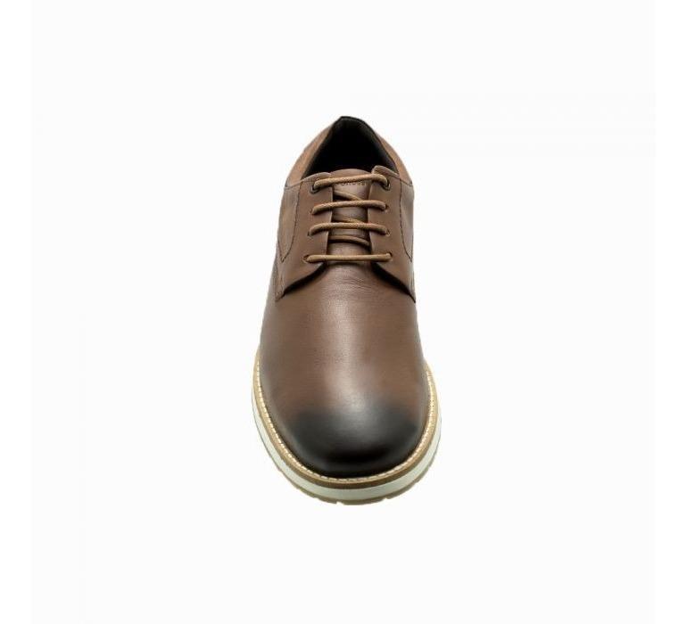 c7ac8c8203 Sapato Masculino Derby Estilo Casual Keep Shoes Cor Marrom - R$ 219 ...