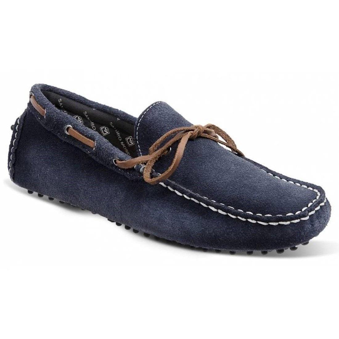 ebccddd8ed sapato masculino driver sandro moscoloni akron azul marinho. Carregando zoom .