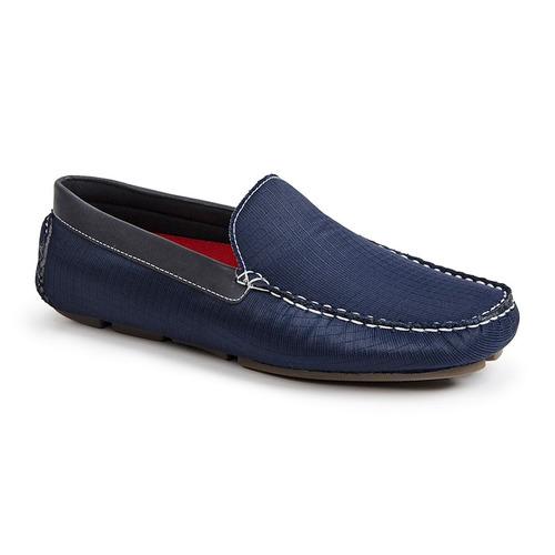 sapato masculino driver sandro moscoloni boca raton azul