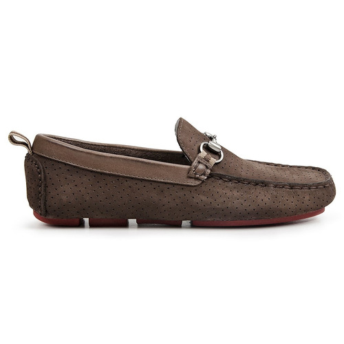 sapato masculino driver sandro moscoloni smile marrom escuro