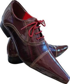 02d97c2bf Sapato Masculino Verniz Rosa - Sapatos Sociais e Mocassins Bordô em ...
