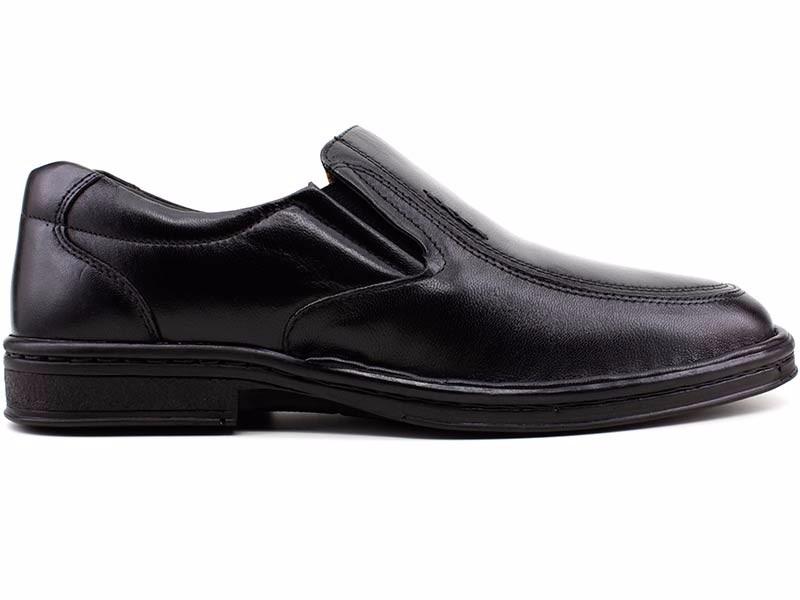 66d7ec56f sapato masculino em couro pipper 26505 preto loja pixolé. Carregando zoom.