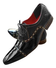 184a97621 Zapatos - Sapatos Sociais e Mocassins Preto em Rio Grande do Sul com o  Melhores Preços no Mercado Livre Brasil