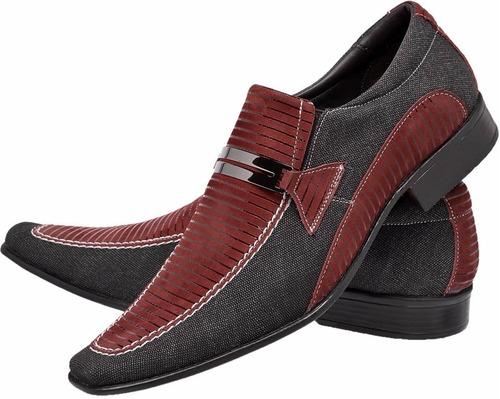 sapato masculino esporte fino moda masculina