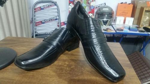 sapato masculino esporte fino preto nº 43 (código 71)