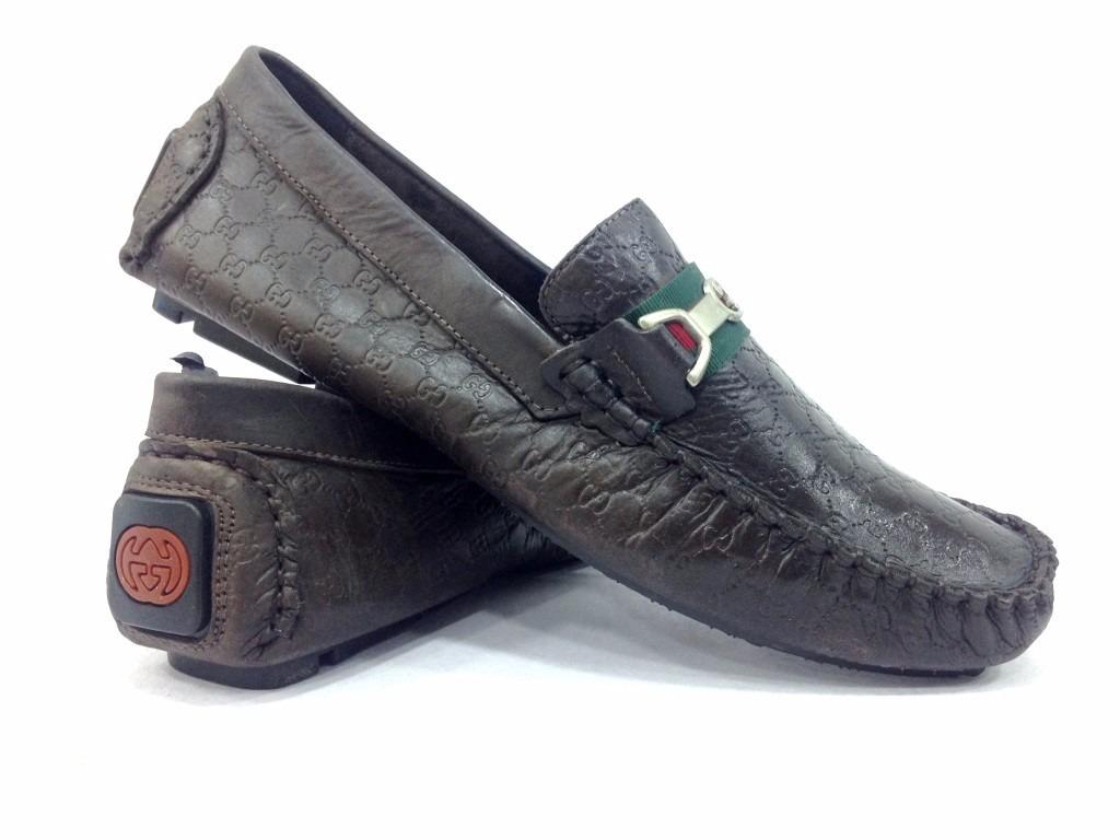 d2d0e42c84 sapato masculino estiloso mocassim de couro gucci novidade. Carregando zoom.