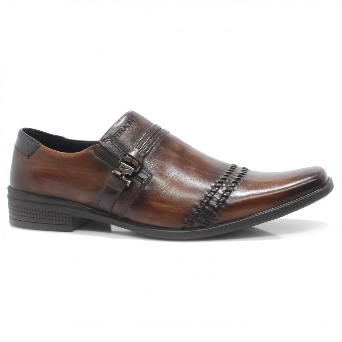 26ed2cabd sapato masculino ferracini frankfurt couro 4349 | zariff. Carregando zoom.