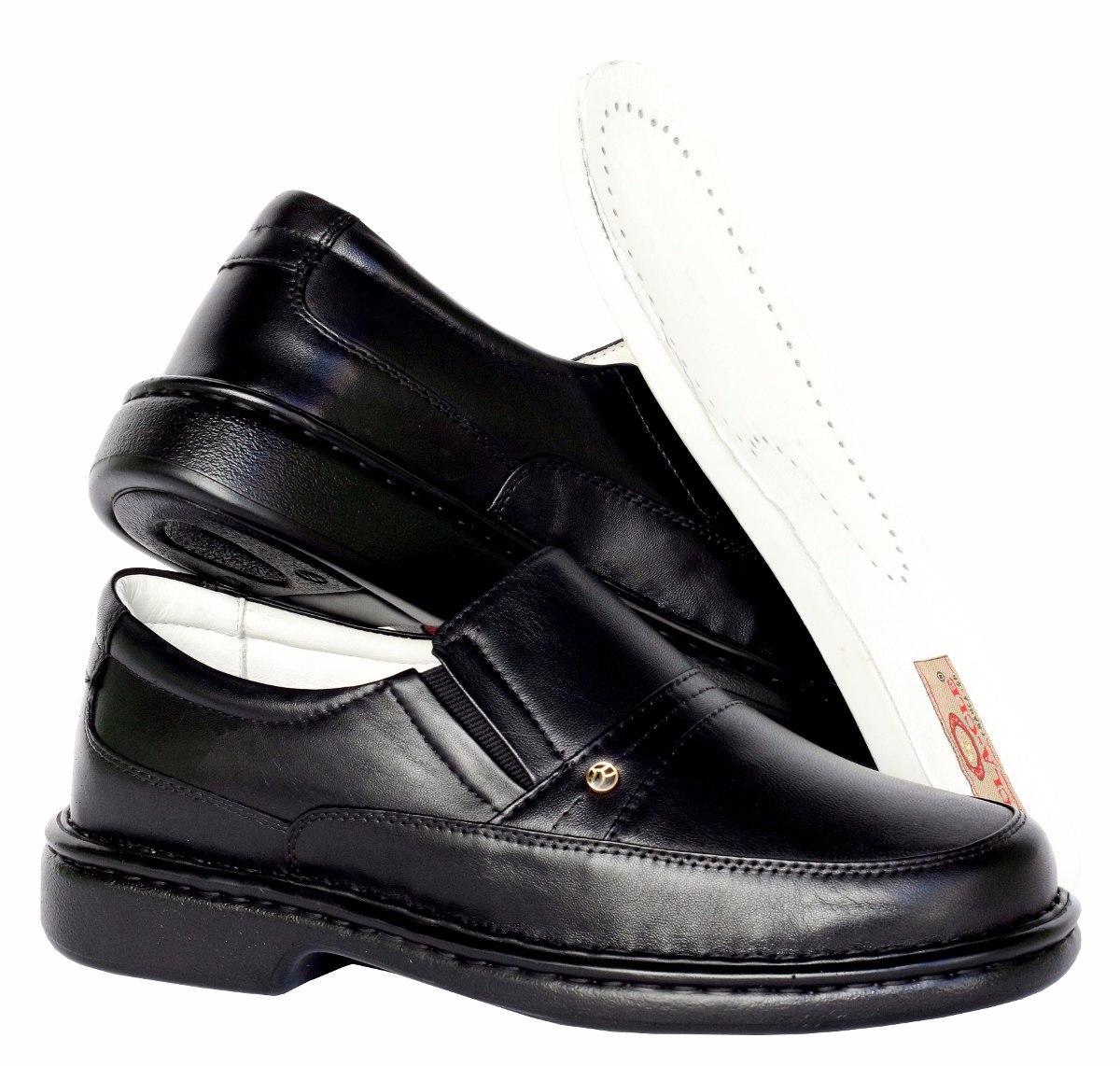 a48a66c1c Sapato Masculino Linha Anti-stress Puro Conforto 100% Couro - R$ 169 ...